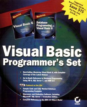 Visual Basic Programmer's Set with CDROM [Paperback]