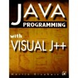 Java Programming with Visual J++ [Paperback]
