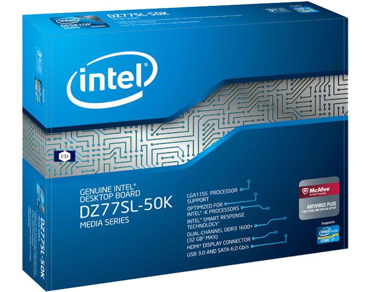 Intel Media DZ77SL-50K Desktop Motherboard - Intel Z77