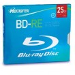 Memorex Blue-Ray BD-RE 25GB Blu-ray 2x Single 10mm JC