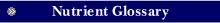 Emergen-C Nutrient Glossary