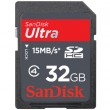 SanDisk 32GB Ultra Secure Digital High Capacity (SDHC) High Performance Card